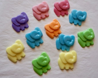 20 Elephant Soaps (10 Favors), Shower Favors, Elephant Soaps, Party Favors, Baby Shower Favors