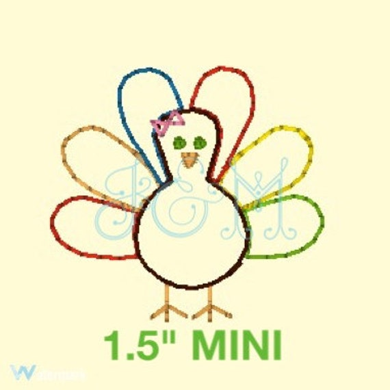 Mini Sketch Girl Turkey Embroidery Design Vintage Stitch