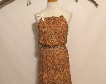 Refashioned Dress - size medium
