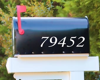 Reflective Mailbox Numbers |  Reflective Address Numbers | Reflective Decal | Door Numbers | Door Decal | Mailbox Decal | Colonial