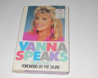 Vanna Speaks Vintage Hardcover Book