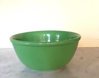 Stoneware Mixing Bowl Kelly Green