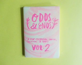 Odds and Ends: Vol. 2 A6 Risograph Zine