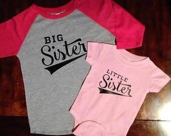 Little Brother; Big Brother; Little Sister; Big Sister; Sibling Shirts; Baby Shirt; Matching Shirts; Baseball shirt; Raglan Shirts