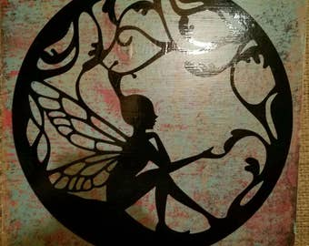 Wood Fairy sign