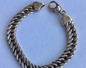 Sterling Silver Chain Bracelet 925