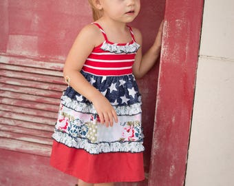SALE* Lil Patriot Dress