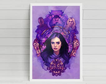 What Would Jessica Do? - 11x17  Signed Poster Print