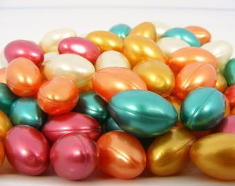 Assorted Scents Bath Oil Beads - Scented Bath Oil Capsule - Bath Oil Gel Capsule Scented Oil Filled Bath Bead Bath Oil Pearl 90's Bath Bead