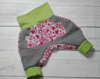 Bloomers 'Girl' Gr. 56 grey - pink