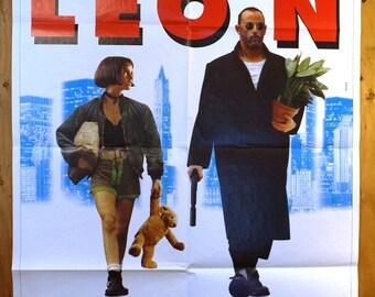 "LEON The Professional Jumbo Italian Movie Poster  ""Leon - The Professional""  -"