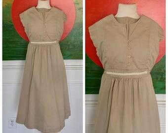 Vintage Adorable empire 70's dress