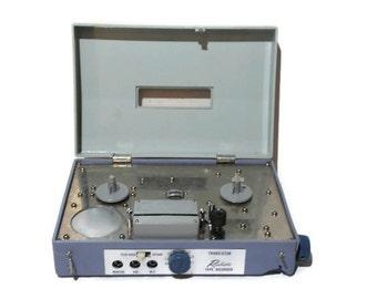 Reel To Reel Tape Recorder, Transistor, Reel To Reel, Tape Recorder, Vintage Electronics, Reel To Reel Recorder,Tape Player,60s, Electronics