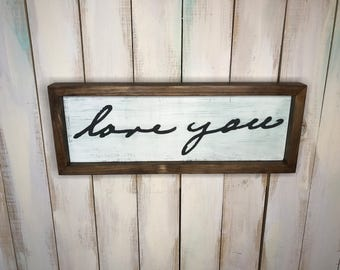 Handwriting Sign- Handwriting Gift- Farmhouse Sign- Farmhouse Frame- RIP Sign- Unique Gift- Rustic Decor- Farmhouse Decor- Handwriting- Sign