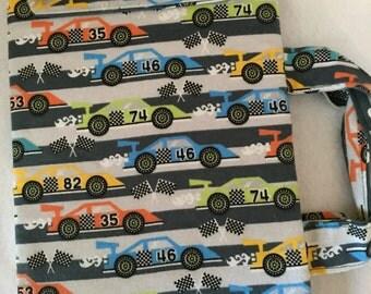 Travel size felt Board - Nascar race cars