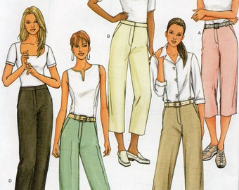 Butterick Classics Pattern 3791 TAPERED or STRAIGHT PANTS  Misses Sizes 18 20 22