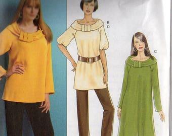 Butterick DRESS TUNIC PANTS Pattern 5289 Misses Sizes 8 10 12 14