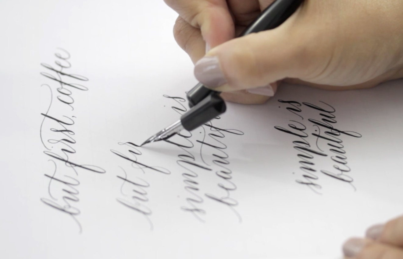 Online Calligraphy Course By Moon Tide