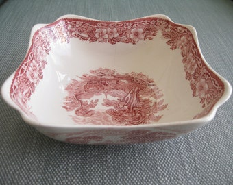 50% Off Old Castle Pink Transferware Wedgwood & Co. England Antique Bowl