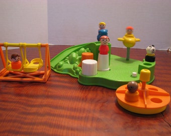 Vintage Fisher Price Playground