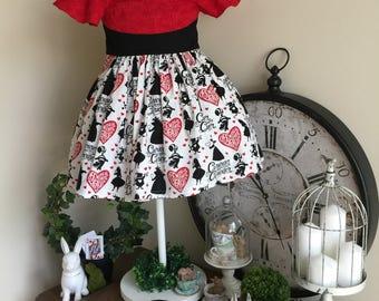 Wonderland Queen of Hearts Dress