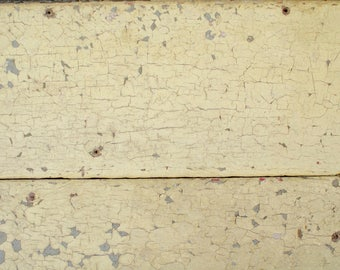 Antique reclaimed Barn Wood Photography Backdrop, Real Wood Salvaged photo backdrop, yellow chippy paint, food photography