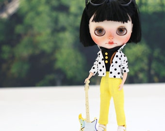 Doll clothes for Neo Blythe. Set of 3 pcs.