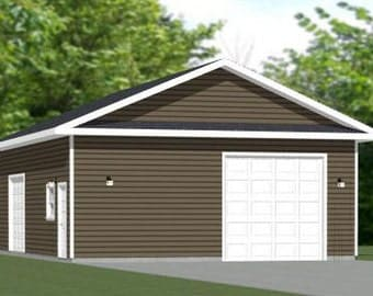 Items similar to 16x32 tiny houses 511 sq ft pdf for 28x36 garage