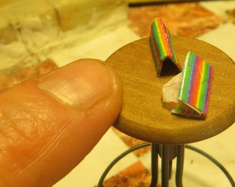 Rainbow Dollhouse Miniature Fancy Rolling Papers - Cigarette Papers - Paraphernalia Adult Collectible