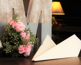 100 Paper Airplanes for Wedding Send Off