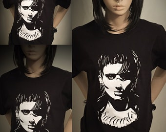 Lisbeth Salander shirt,Lisbeth Salander,Rooney Mara,the girl with the dragon tattoo shirt,the girl with the dragon tattoo,kawaii,tshirts,alt