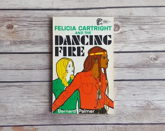 Teen Mystery Novel Vintage Girls Series Felicia Cartright And The Dancing Fire Christian Fiction Story Native American Bookshelf Fiction