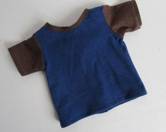 "18"" Boy Doll T-shirt - 18 Inch Girl Doll Clothes - American Made Doll Clothes"