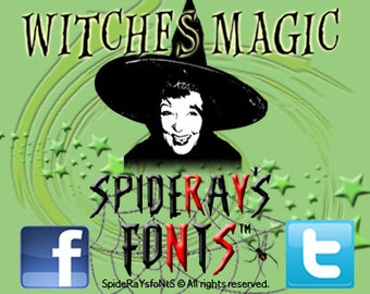 Witches Magic Commercial Font