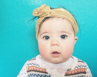 Gold Baby Wire Headband