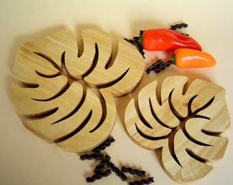 Coasters, Kitchen, Deco, Wood, Bio, Kitchen gadgets, Cooking gadgets, Trivet