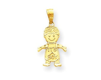 It's A Boy Charm (10WC10)