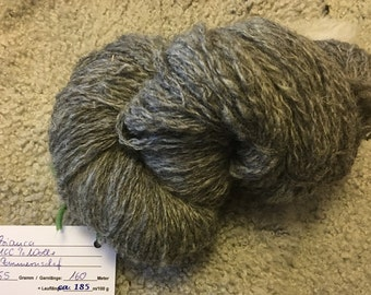 "Wool-hand spun, Pomeranian sheep ""Bianka"""