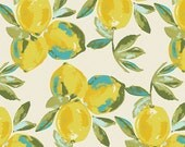KNIT - Yuma Lemons Mist - SAGE by Bari J. for Art Gallery Fabrics