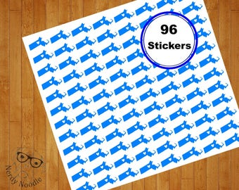 Massachusetts Stickers, 96, Massachusetts Sticker Set, Massachusetts Envelope Seals, State Stickers, MA Stickers, MA, Scrapbook Stickers