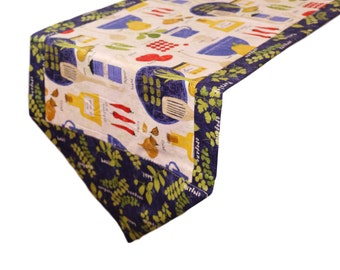 Cooking Italiano Table Runner