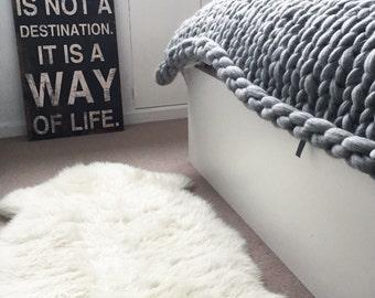Chunky Merino Giant Yarn Blanket