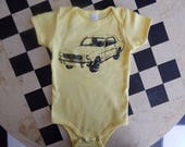 Baby one-piece MUSTANG, Newborn-24 mos