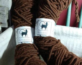 Alpaca rug yarn, cored yarn, 100% alpaca, Aleeka
