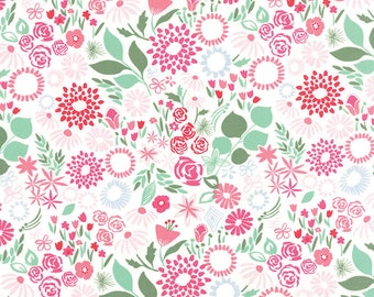 Aria - Multi Rose by Kate Spain for Moda, 1/2 yard, 27235 15