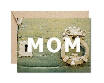 Rustic 'Furniture' Mother's Day Card