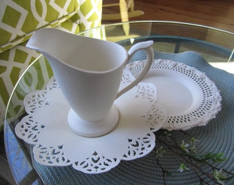 Chalk Painted Dishes - Chalk Painted Home Decor - Old White Chalk Paint