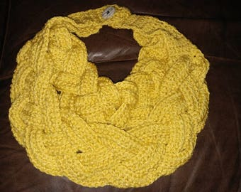 Double Braided Cowl