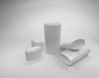 FREE SHIPPING Pick the amount you need White Empty Deodorant Containers 2.65oz BPA Free diy deodorant