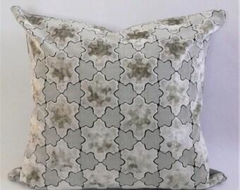 Star Cut Velvet  Pillow Cover